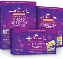 Hallmark Premium Blank Greeting Cards & Photo Card Paper