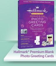 Hallmark Premium Blank Photo Greeting Cards