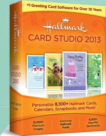 Hallmark Card Studio 2013 - The #1 Greeting Card Software for Over 10 Years