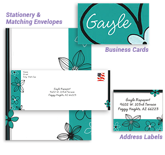 ENVELOPES, LABELS & STATIONERY