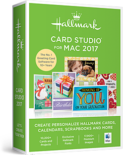 Hallmark Card Studio for Mac 2017 - Download