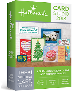Hallmark card studio 2018 hallmark card studio 2018 lets create together m4hsunfo
