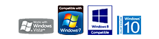 Windows Vista, Windows 7, Windows 8, Windows 10