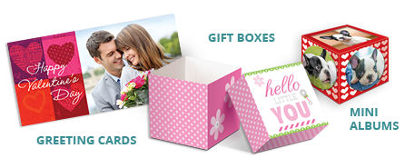 Greeting Cards, Gift Boxes & Mini Albums