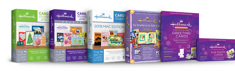 Hallmark card studio support page greeting card software card the new 2018 versions have arrived m4hsunfo