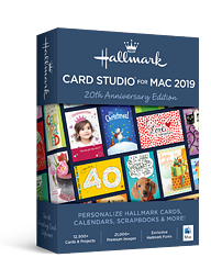 Hallmark Card Studio 2019 for Mac