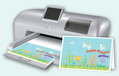 Print, email or create a PDF of your one-of-a-kind creation. Even share on Facebook